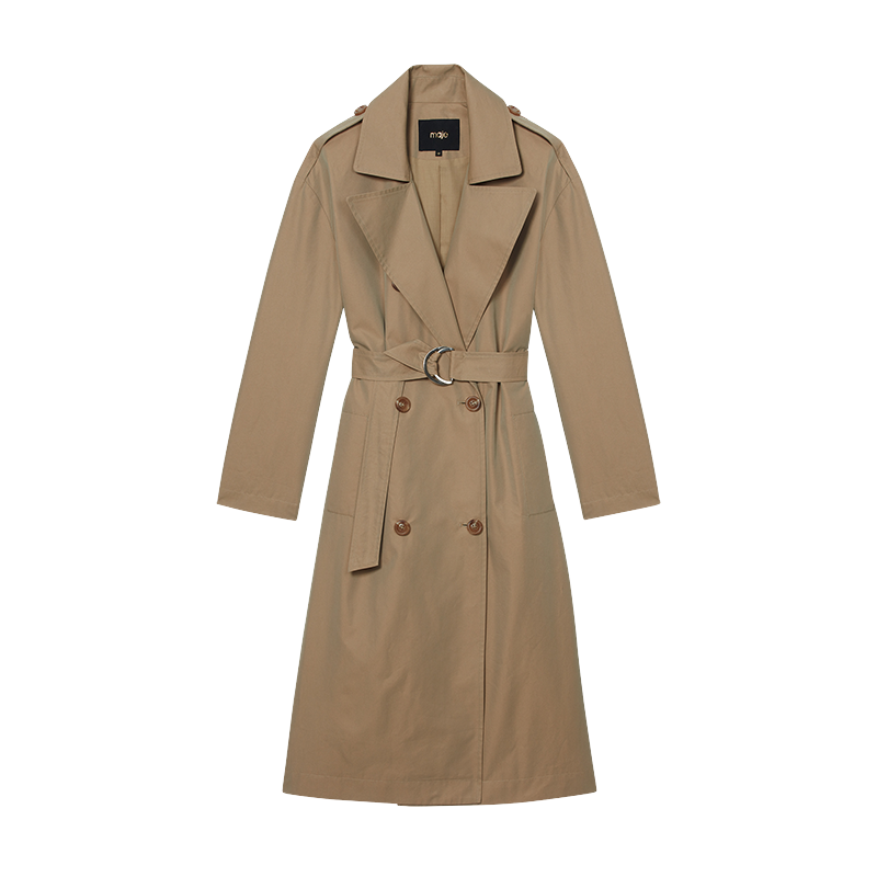 Toile classic trench - Coats & Jackets - MAJE
